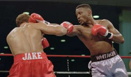 Pernell Whitaker. /AP